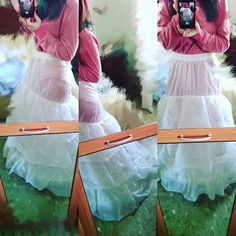 Omg, my first petticoat! -Cescarlet . #Petticoat #Dress #Cosplay #Cosplayer #Princess #Bride #Pajamas #WinnieThePooh #Disney #Pink #White #Fashion #cosplayersofinstagram #cosplayleague #Aliexpress #Beautiful #Fashion #Cute #Kawaii #New #Shopping #Arrival #Wait #Yay #Hype #Enagua #Cancan #Underskirt #Skirt #gown #howto