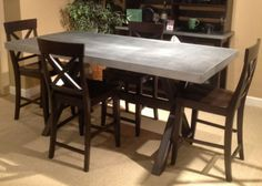 Keaton II Rectangular Counter Height Dining Room Set | Liberty | Home Gallery Stores