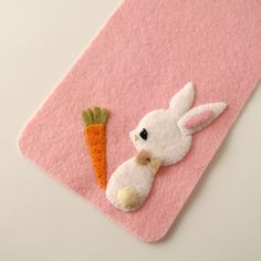 DIY Cute Bunny Pencil Case - FREE Sewing Pattern and Tutorial
