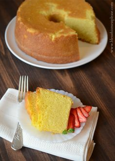 I know Mother's Day is a month away, but you've got to plan ahead for this kind of event! I have an awesome pound cake recipe for you today, but that's not the only exciting part of the post. I have not one, but two America's Test Kitchen cookbooks to giveaway today. When I was