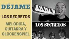 """""""Déjame"""" de Los Secretos con melódica y guitarra (incluye notas y acordes)"""