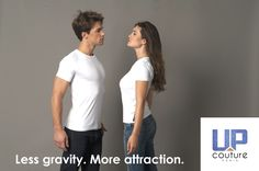The special technology in the Up t-shirt helps you improve your posture: you have less gravity effect and look more attractive. #Tshirt #Paris #ImproveYourPosture #GoodPosture  Visit UpCouture at: www.UpCouture.com