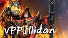 Смотреть онлайн видео [Dota2] VPP.Illidan Stormrage Pro Warlock Patch 6.83 Mid Ranked MMR Game [ Illidan Gameplay ]