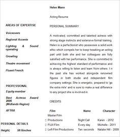 Ashley Goodson  Resume  Jta Inc Talent Agency  Acting