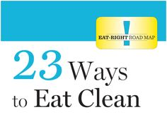 A great reference to help eliminate processed foods from your diet.