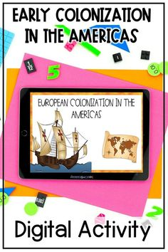 Teach your upper elementary social studies students about the European exploration and colonization of North America using this digital exploration and colonization activity! Students will learn about European explorers and the colonies they created. Engage your 4th, 5th, and 6th graders with this Google slides reading activity, jigsaw activity, and Flipbook whether distance learning or in your socialstudies classroom. #upperelementary #socialstudies #distancelearning Upper Elementary Resources, Elementary Science, Reading Activities, Science Activities, Learning Process, Fun Learning, 7th Grade Classroom, Social Studies Resources, Political Science