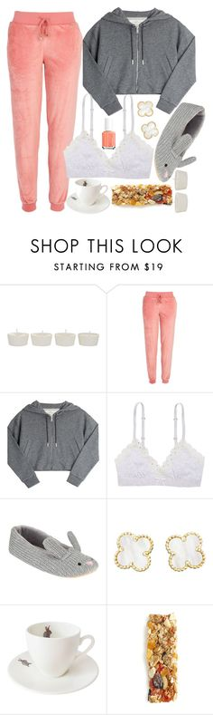"""""""Bunny"""" by purplerox24 ❤ liked on Polyvore featuring Takayaka, River Island, Golden Goose, Aerie, John Lewis, Van Cleef & Arpels, Outlandish Creations and Essie"""