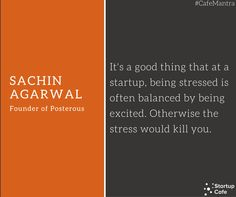 Sachin Agarwal Quote #CafeMantra