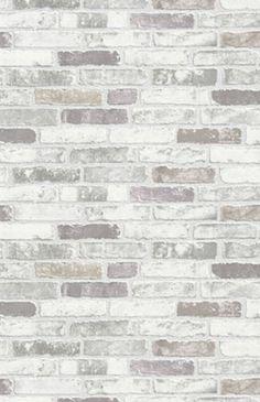 NEW LUXURY ERISMANN BRIX GREY BRICK WALL EFFECT EMBOSSED TEXTURED VINYL WALLPAPER 6703-10