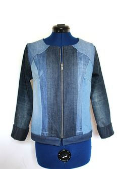 Veste jean esprit teddy nouvelle collection