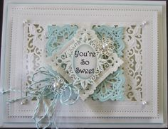Creative Expressions Youre So Sweet Card - Create and Craft USA