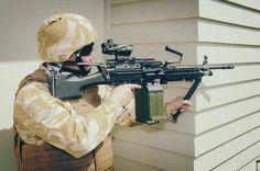 so C-9 7.62x51mm LSW NZ Army
