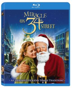 Christmas Gifts for Him or Her:  Miracle on 34th Street Blu-ray DVD @ Amazon