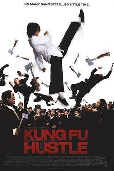 KUNG FU HUSTLE // Hong Kong action-comedy by Stephen Chow, 2004. One of my favs. Superb cinematography by Hang-Sang Poon & choreographed martial arts by the legendary Yuen Woo-pin.