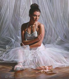 26 Realistic and Glamorous Oil Paintings by Famous Artist Rob Hefferan. Follow us www.pinterest.com/webneel