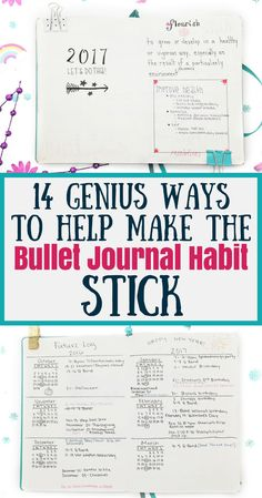 You've been introduced to bullet journals and you love everything you've seen so far. But this time, you want to commit. Learn how to make your bullet journal habit stick, common problems that make people quit, and useful ideas to overcome them.