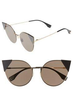 a4a76fb8751 FENDI 57mm Lei Cat Eye Sunglasses.  fendi   Sunglass Frames