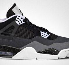 Air Jordan 4 'Grey/Cement' Oreo 2013