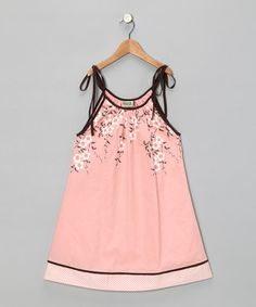toddler girl dress // Would love this for my daughter! Reminds me of the cherry blossoms in DC!