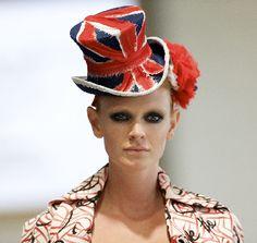 union jack hat  via @joanie_coker 's magnificent !British LOVE! mood board!!