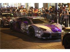 2012 GUMBALL 3000 arrives in Toronto Team Galag Lamborghini Aventador