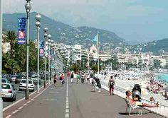 The City of Nice France - Old Town--Been right on this street!! With @Danielle Birckbichler!