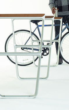 1 | Fuseproject Designs Public Furniture With Cyclists In Mind | Co.Design | business + design