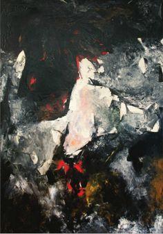 Sonia Gechtoff //Death of a Child, 1957 [oil on canvas]