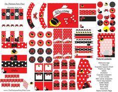 Il ragazza fantasia Mouse stampabile Kit di PlatinumPartyPlace