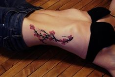 Meaning of Tree Tattoos. Thinking of getting a pine tree tattoo to honor my late, would have been, father-in-law. He was like a father I didnt get to have for a very short time. Pine Tattoo, Leg Tattoos, Small Tattoos, Tatoos, Tattoo Ribs, Cherry Tree Tattoos, Tree Tattoo Meaning, Tattoo Bauch, Tree Sleeve Tattoo