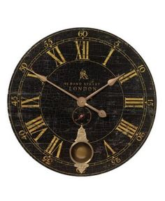 """Bond Street 30"""" Wall Clock from Home Decorators Collection.  Savor the luxurious design of this attractive home accent that's sure to blend flawlessly with any traditional home decor.  Get your rebate from RebateGiant."""
