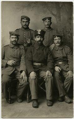 Landsturm   German soldiers WW1.   Crafty Dogma   Flickr