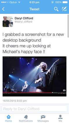 Aww Mikey's dad tweeted this<< He's not the only one that cheers up seeing Mikey's happy face! xD