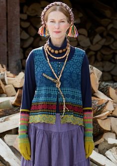 gudrun sjoden-- love the vest