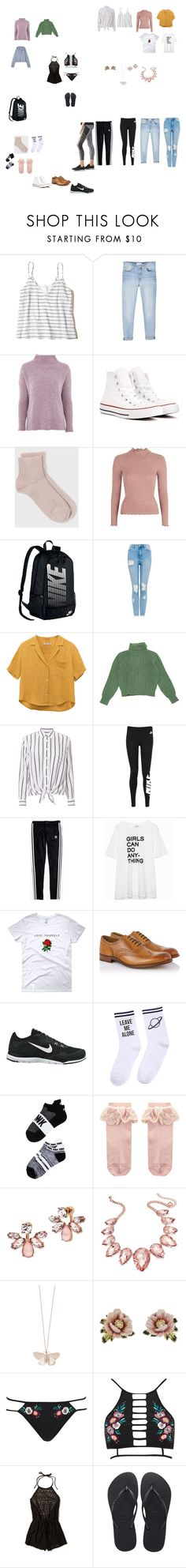 """""""San Diego Spring Break"""" by wecomeformthestars ❤ liked on Polyvore featuring Hollister Co., MANGO, Topshop, Converse, NIKE, Yves Saint Laurent, Equipment, Madewell, lululemon and Zadig & Voltaire"""