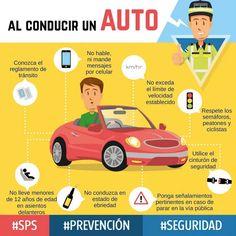 Al conducir un auto #Prevención #accidentes