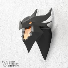 Deathwing Dragonlord 3D Papercraft Dragon World of Warcraft #deathwing #papercraft #trophy #hearhstone #warcraft
