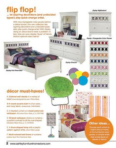 My favorite children's bedroom set!!! Ashley Furniture HomeStore in Bloomington il ask for Erin