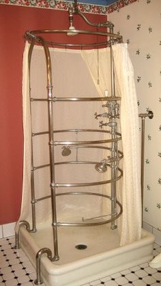 Showers have been very fancy these days. I come out smelling nice enough to go to a dinner party right after a match!