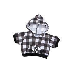 Black Checkered Skull Hoodie ($7) ❤ liked on Polyvore featuring tops, hoodies, toys, sweatshirt hoodies, skull top, checkered hoodie, hoodie top and checkered top