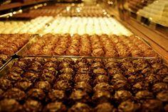 A Peak Inside Swiss Chocolate Shop, Confiserie Sprungli. www.thisoffscriptlife.com #valentinesday #chocolate #switzerland