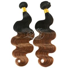 T1B/#30 Ombre Hair Body Weave Hair Extensions