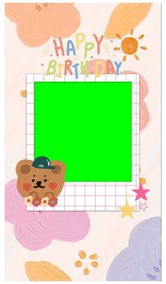 Birthday Post Instagram, Happy Birthday Template, Polaroid Template, Kpop Gifs, Cute Christmas Wallpaper, Instagram Frame Template, Photo Collage Template, Polaroid Frame, Overlays Picsart