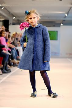 Wear the catwalk style this autumn. Lazy Francis Sparkling Dreams coat at www.lazyfrancis.com
