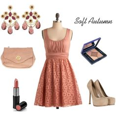 """""""Red for Soft Autumn 2"""" by enlightenedshopper on Polyvore"""