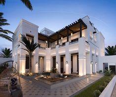 Stunning Modern Dream House Exterior Design Ideas – Page 3 of 41 – Afshin De… Dream Home Design, Modern House Design, My Dream Home, Modern Exterior, Exterior Design, Exterior Homes, Exterior Paint, Dream House Exterior, House Goals