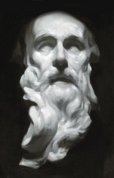 Oil cast drawing