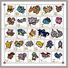 Fangirl Stitches: Gotta Stitch'em All - Pokemon memories and a new cross stitch pattern