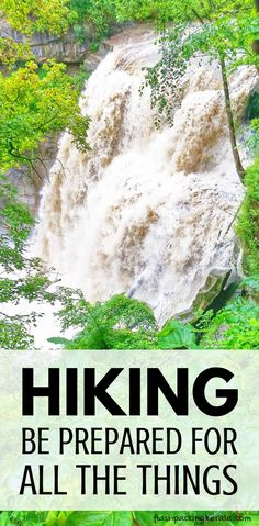 Hiking to outdoor travel destinations. What to pack for a day hike. Hiking essentials for beginners. Hiking tips. Hiking Tips, Camping And Hiking, Camping Tips, Hiking Gear, Camping Checklist, Camping Spots, Family Camping, Packing List For Travel, Budget Travel