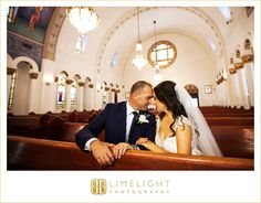 bride and groom, Greek Orthodox Church, pews, intimate, wedding, venue, Limelight Photography, www.stepintothelimelight.com